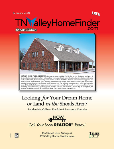 Times Daily - Special Sections - TNValley HomeFinder Shoals Edition Feb 2021