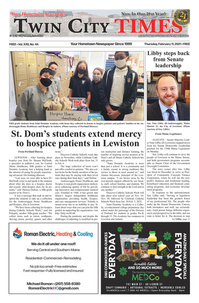 Twin City Times - Feb 11, 2021