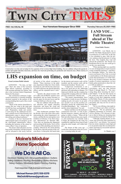 Twin City Times - Feb 25, 2021