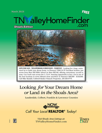 Times Daily - Special Sections - TNValley HomeFinder Shoals Edition March 2021