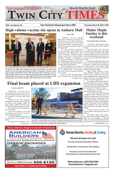 Twin City Times - Mar 25, 2021