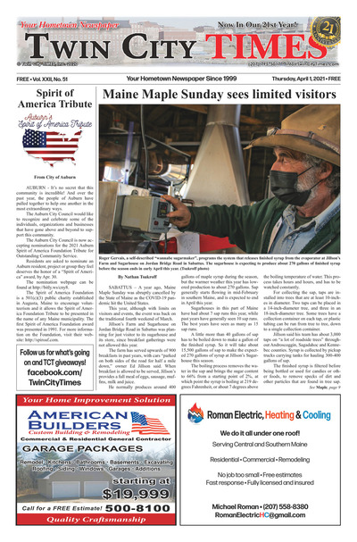 Twin City Times - Apr 1, 2021