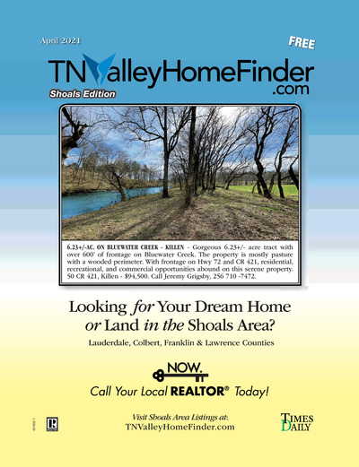 Times Daily - Special Sections - TNValleyHomeFinder.com – Shoals Edition