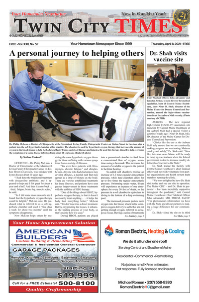 Twin City Times - Apr 8, 2021
