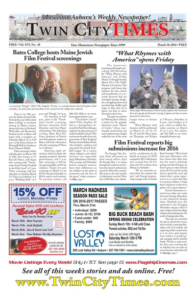 Twin City Times - Mar 10, 2016