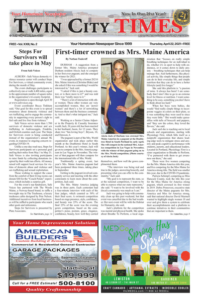 Twin City Times - Apr 22, 2021