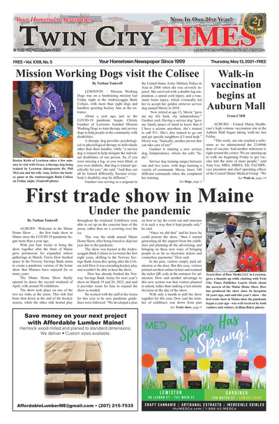 Twin City Times - May 13, 2021