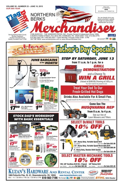 Northern Berks Merchandiser - Jun 10, 2015