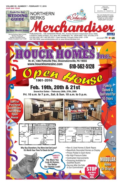 Northern Berks Merchandiser - Feb 17, 2016