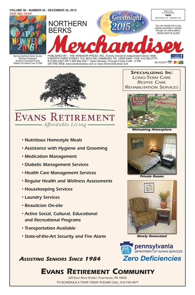 Northern Berks Merchandiser - Dec 30, 2015