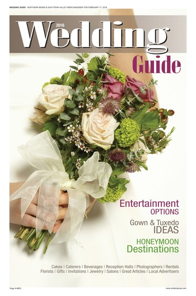 Northern Berks Merchandiser - Wedding Guide 2016