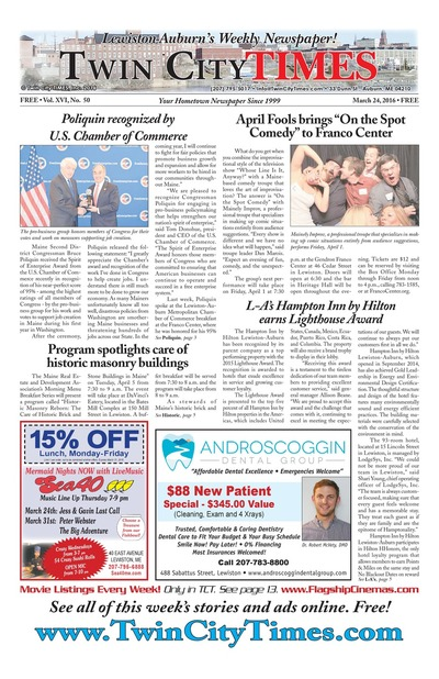 Twin City Times - Mar 24, 2016