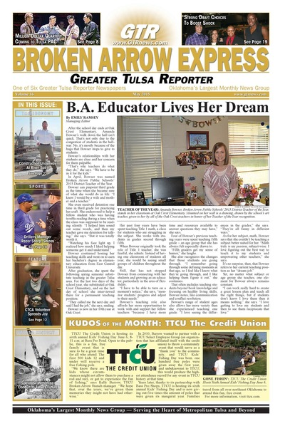 Broken Arrow Express - May 2015