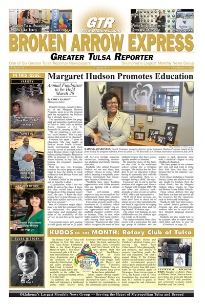 Broken Arrow Express - March 2015