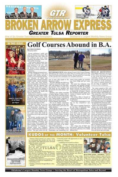 Broken Arrow Express - February 2015