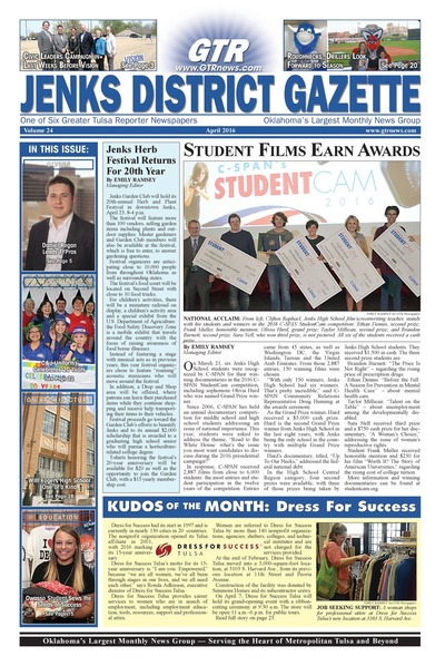 Jenks District Gazette - April 2016