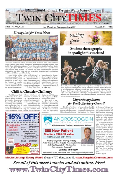 Twin City Times - Mar 31, 2016