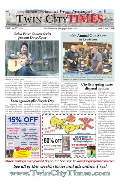 Twin City Times - Apr 7, 2016