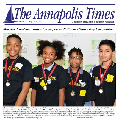 Annapolis Times - May 15, 2015
