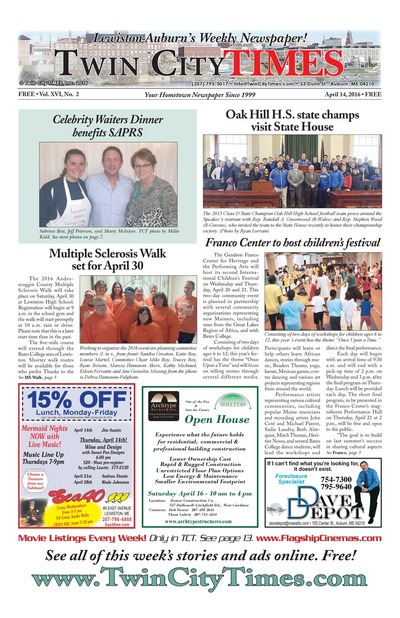 Twin City Times - Apr 14, 2016
