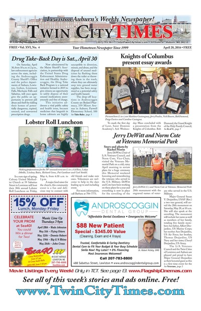 Twin City Times - Apr 28, 2016