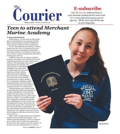 Delmarva Courier - May 4, 2016