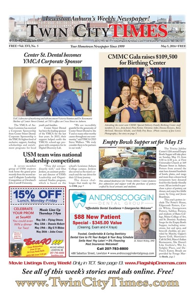 Twin City Times - May 5, 2016