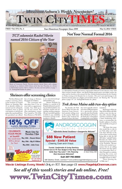 Twin City Times - May 12, 2016