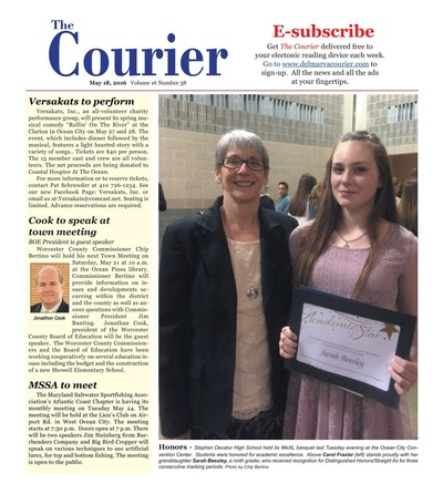 Delmarva Courier - May 18, 2016