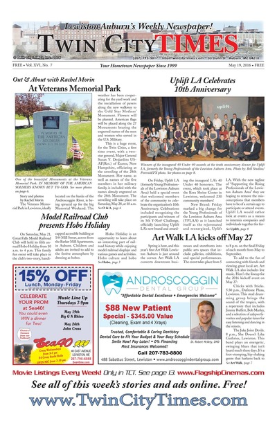 Twin City Times - May 19, 2016