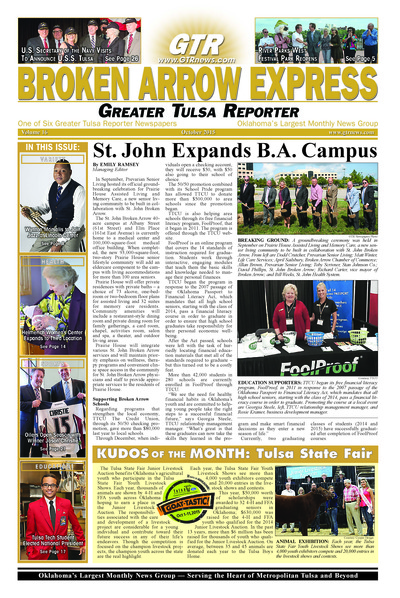 Broken Arrow Express - October 2015