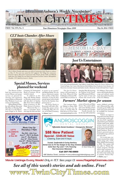 Twin City Times - May 26, 2016