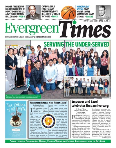 Evergreen Times - May 27, 2016