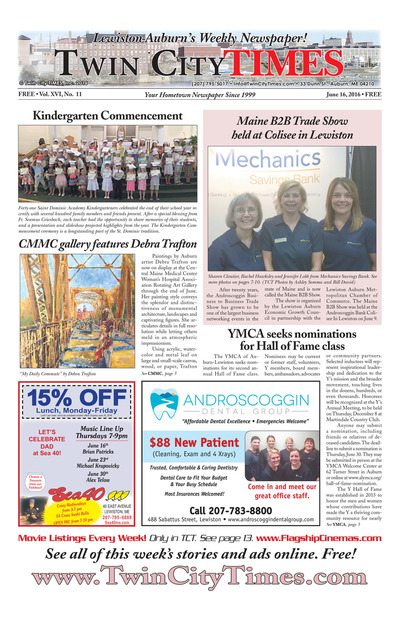 Twin City Times - Jun 16, 2016