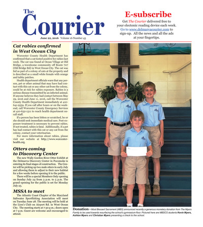 Delmarva Courier - Jun 22, 2016