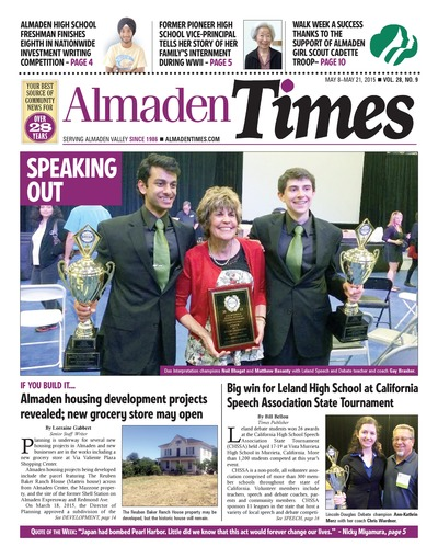 Almaden Times - May 8, 2015