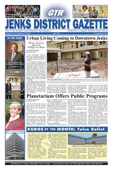 Jenks District Gazette - July 2016