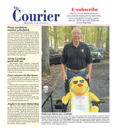 Delmarva Courier - Jul 6, 2016