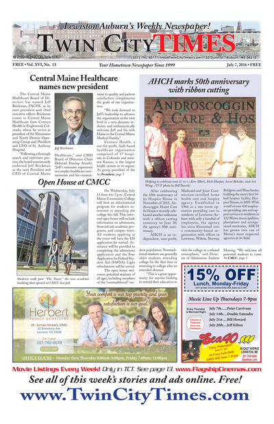 Twin City Times - Jul 7, 2016