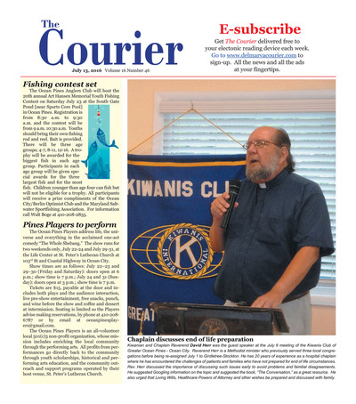 Delmarva Courier - Jul 13, 2016