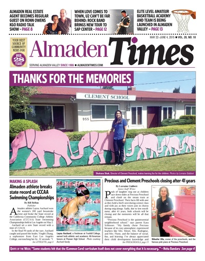 Almaden Times - May 22, 2015