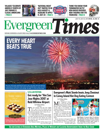 Evergreen Times - Jul 10, 2015