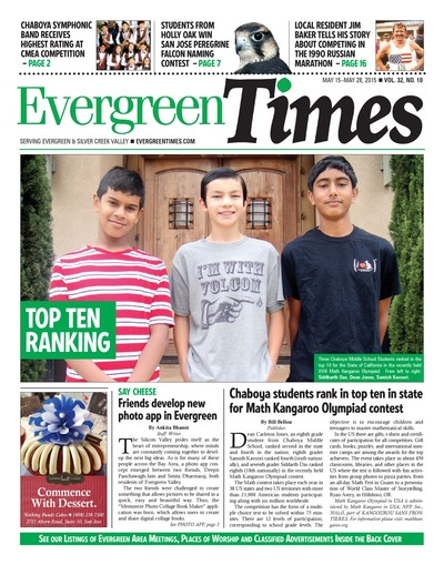 Evergreen Times - May 15, 2015