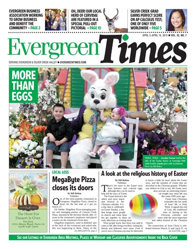 Evergreen Times - Apr 3, 2015
