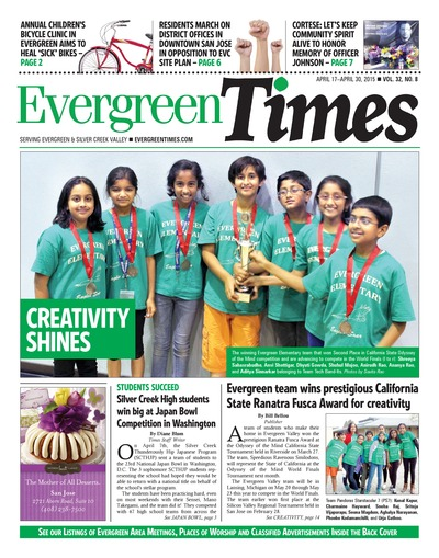 Evergreen Times - Apr 17, 2015