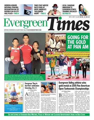 Evergreen Times - Oct 2, 2015