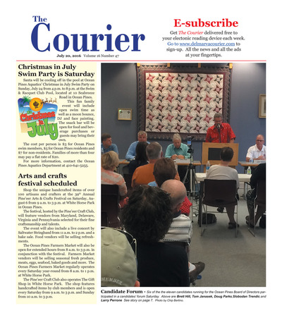 Delmarva Courier - Jul 20, 2016