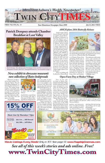 Twin City Times - Jul 21, 2016