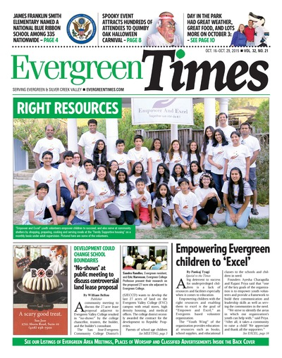 Evergreen Times - Oct 16, 2015