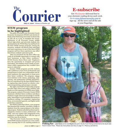 Delmarva Courier - Jul 27, 2016